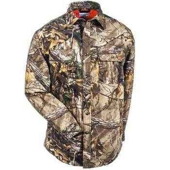 Carhartt Wexford Rain Defender Camo Shirt Jac #101462